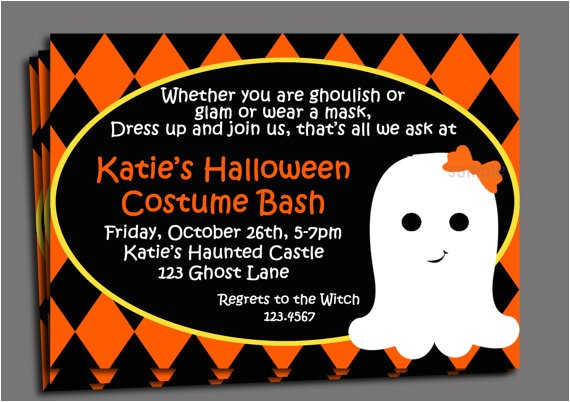 costumes birthday party invitation wording