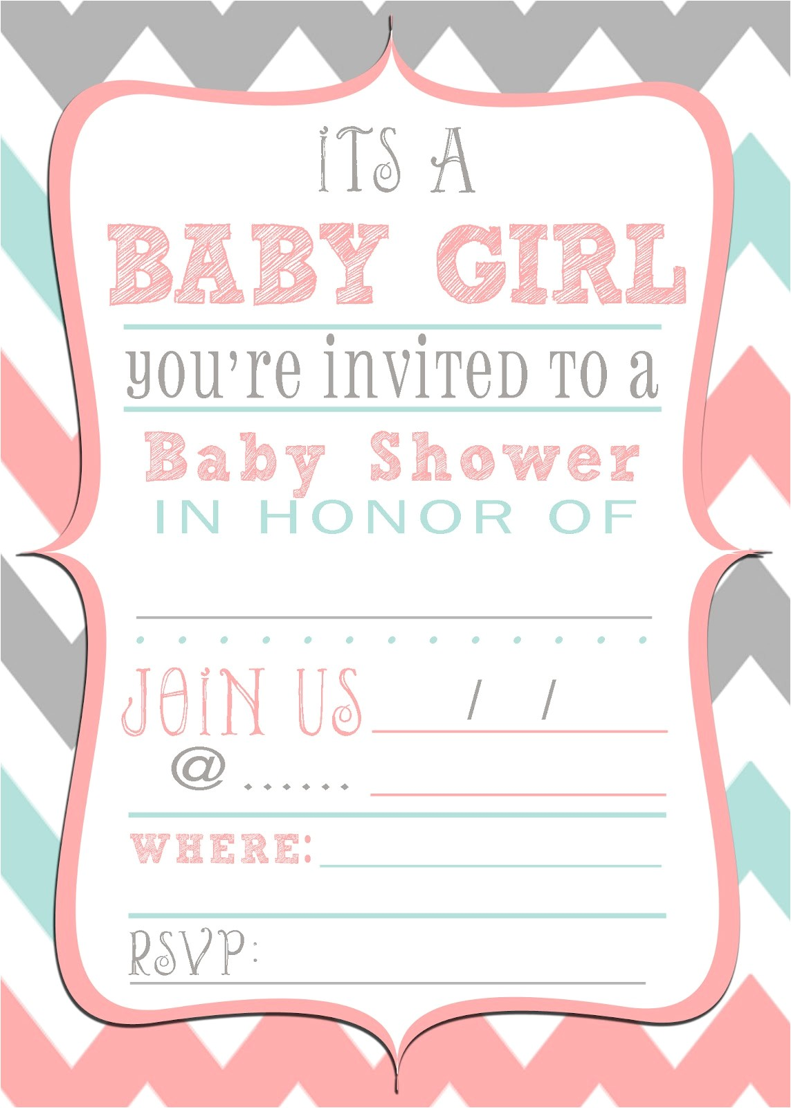Free Baby Girl Shower Invitations Mrs This and that Baby Shower Banner Free Downloads