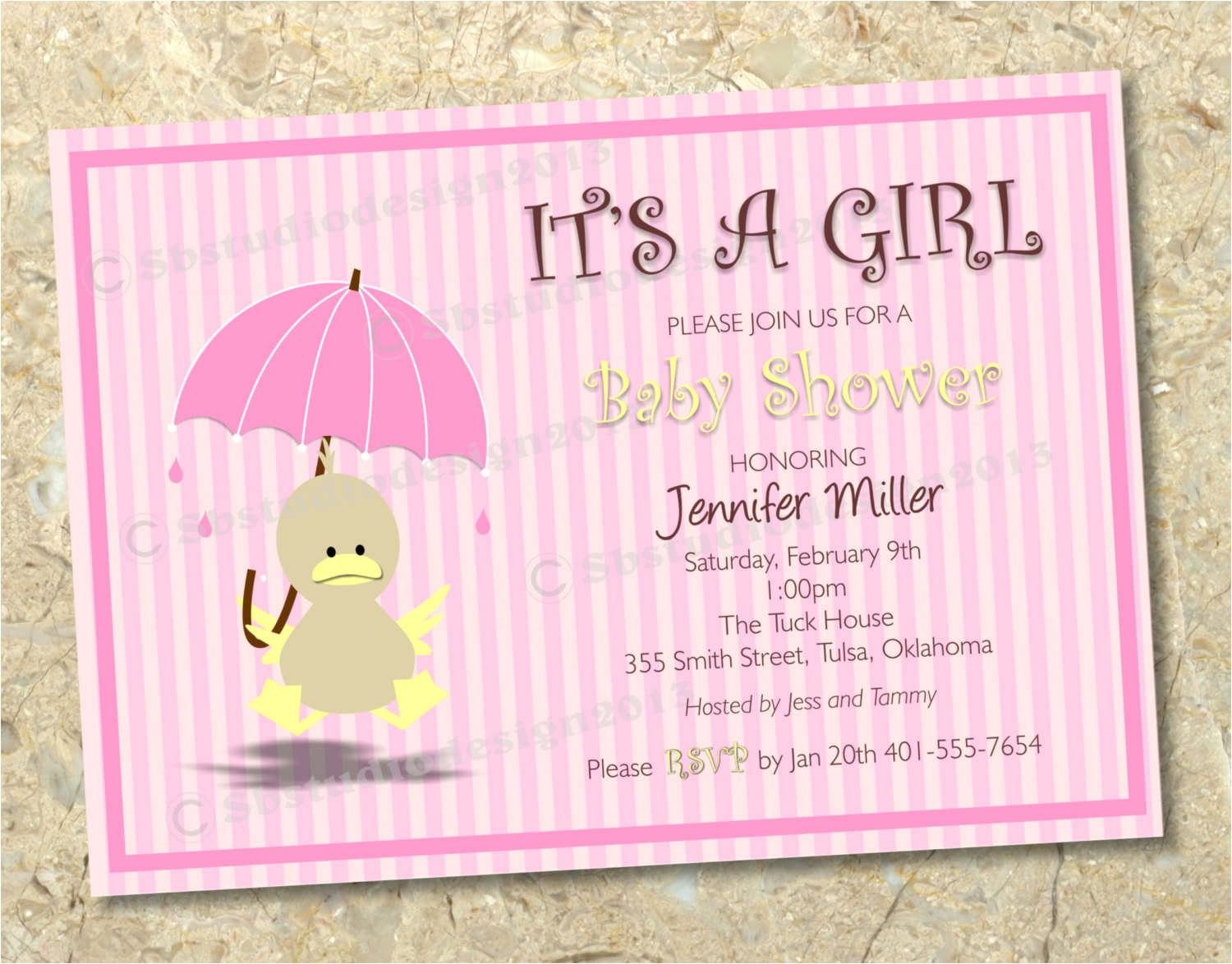 baby shower invitations to print at home