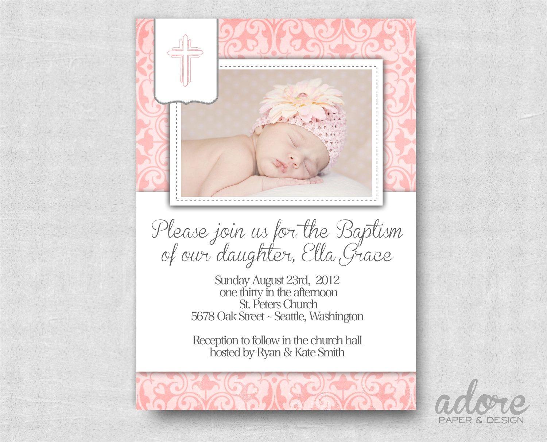 free printable baptism invitations