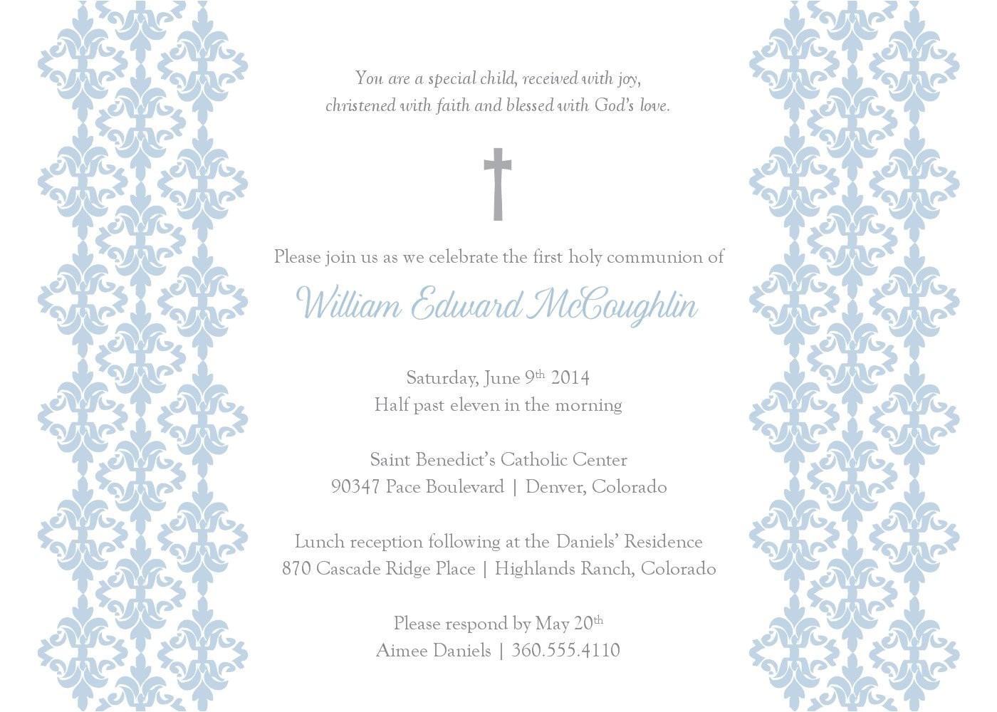 baptism invitation blank templates