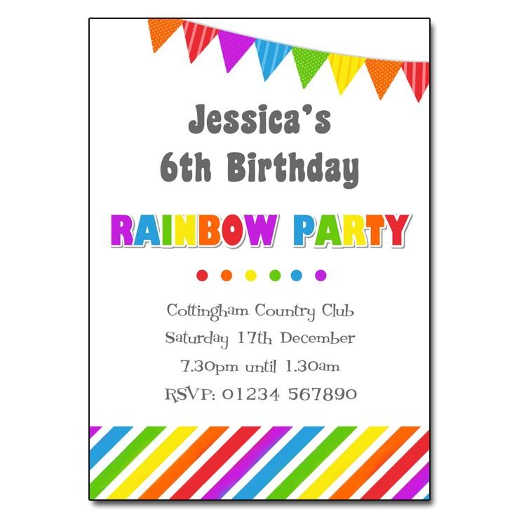 birthday party invitation templates uk