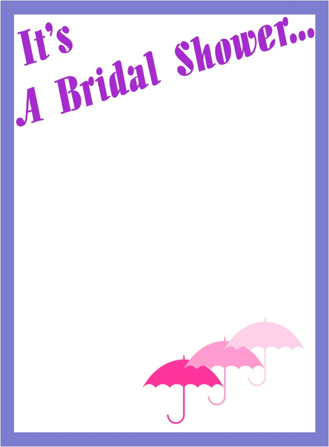 bridal shower border clip art