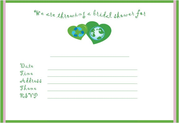 free bridal shower invitations clipart