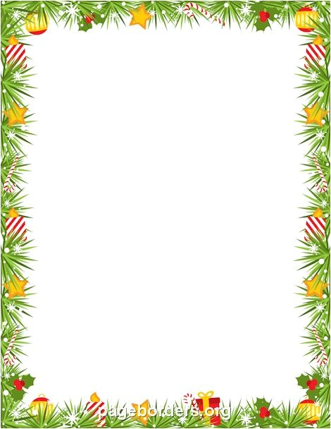 christmas invitation borders clip art