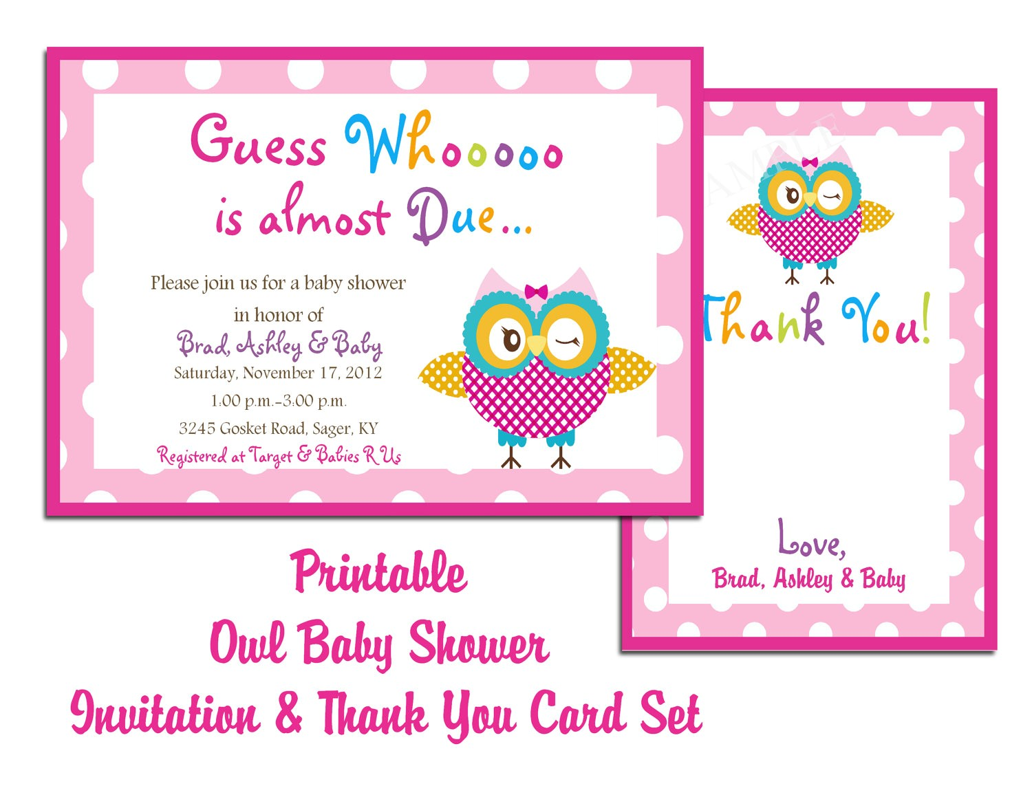 baby shower invites templates for word