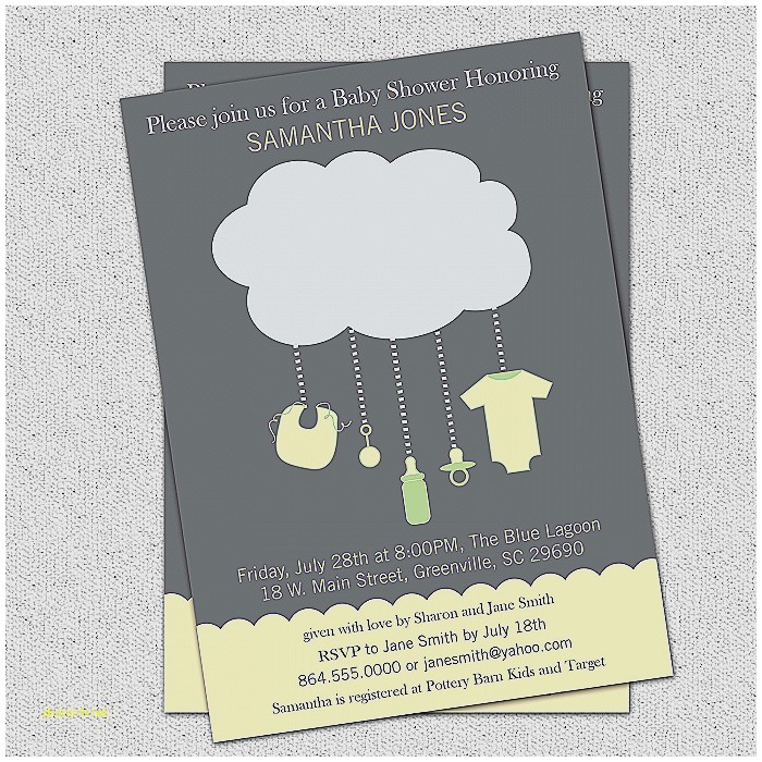 digital baby shower invitation templates