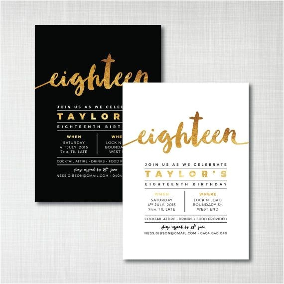 Free Digital Birthday Invitation Cards Another Invite Design Idea We Could Imitate Modern Gold