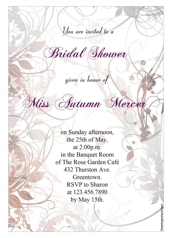 22 free bridal shower printable invitations