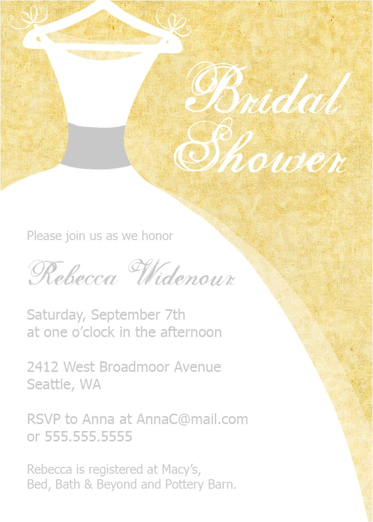 bridal shower invitations ecards