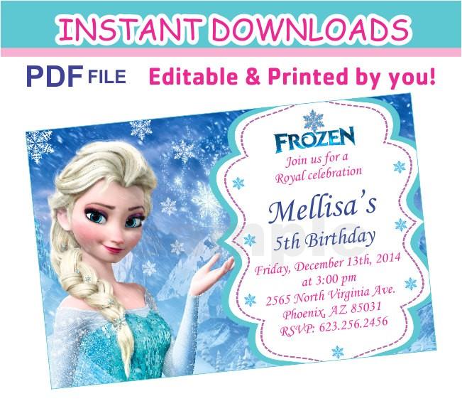 editable pdf instant frozen
