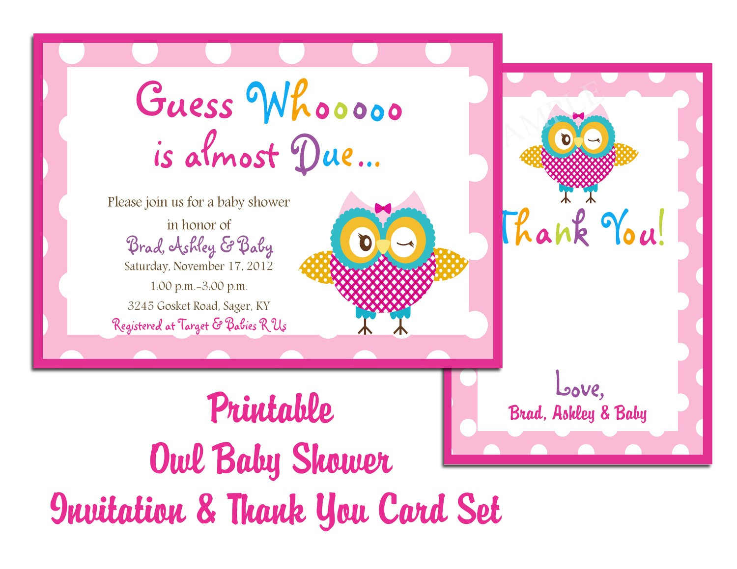 electronic baby shower invitation template
