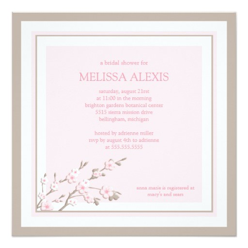 bridal shower invitations electronic