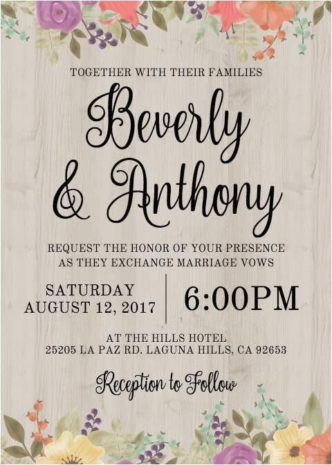 Free Electronic Bridal Shower Invitations Wedding Invitation Templates Free Wedding Invitation