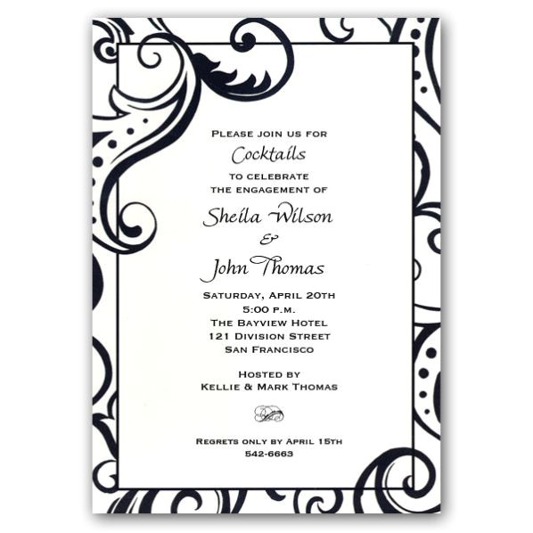 engagment party invitatons