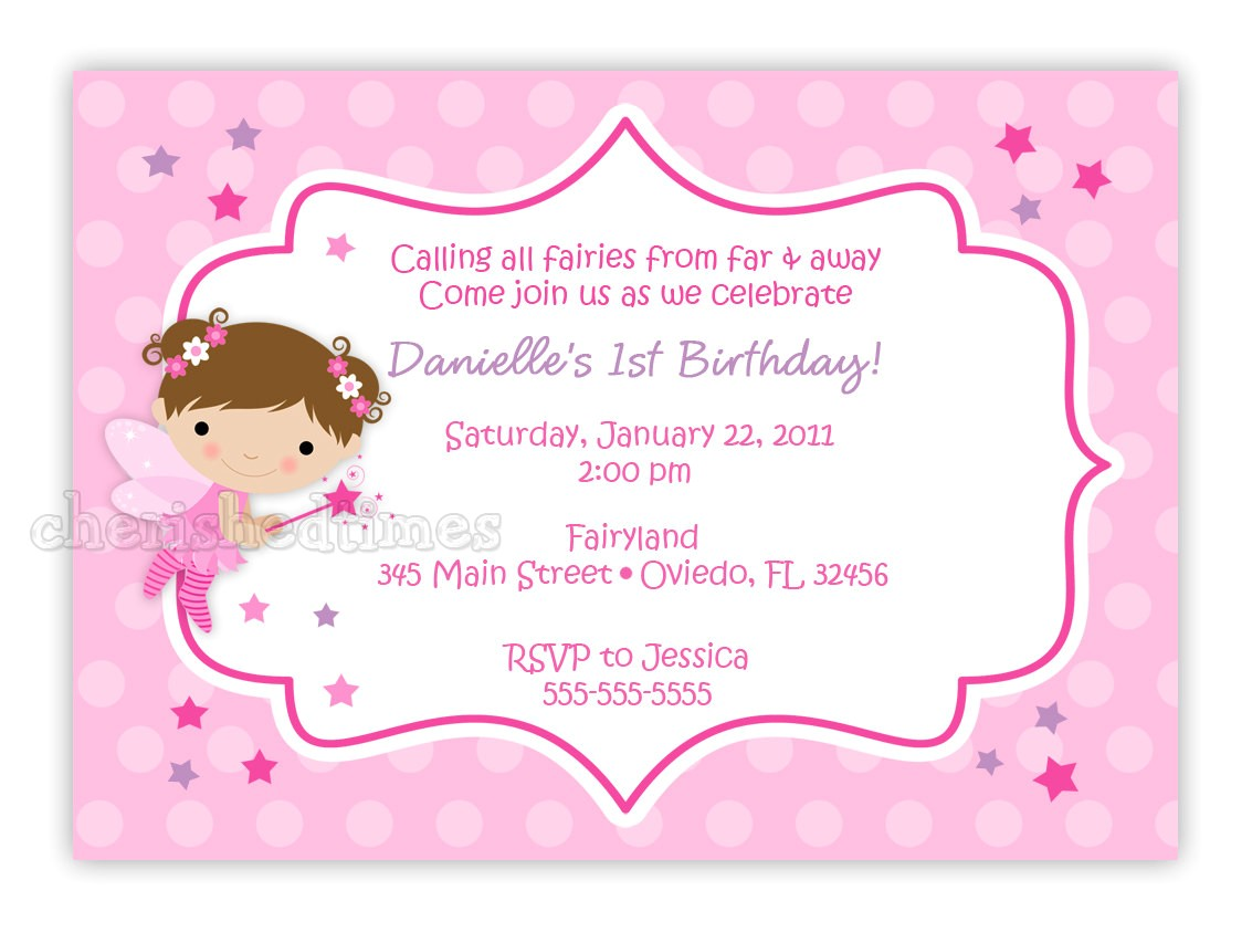 free best 10 fairy birthday invitations download ideas