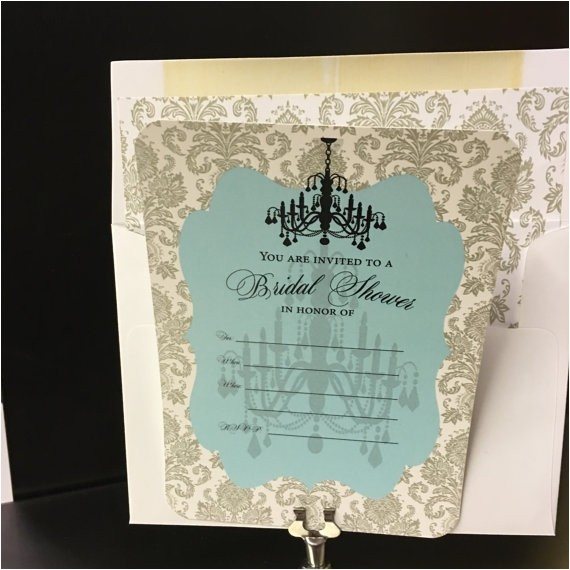 bridal shower invitation fill in