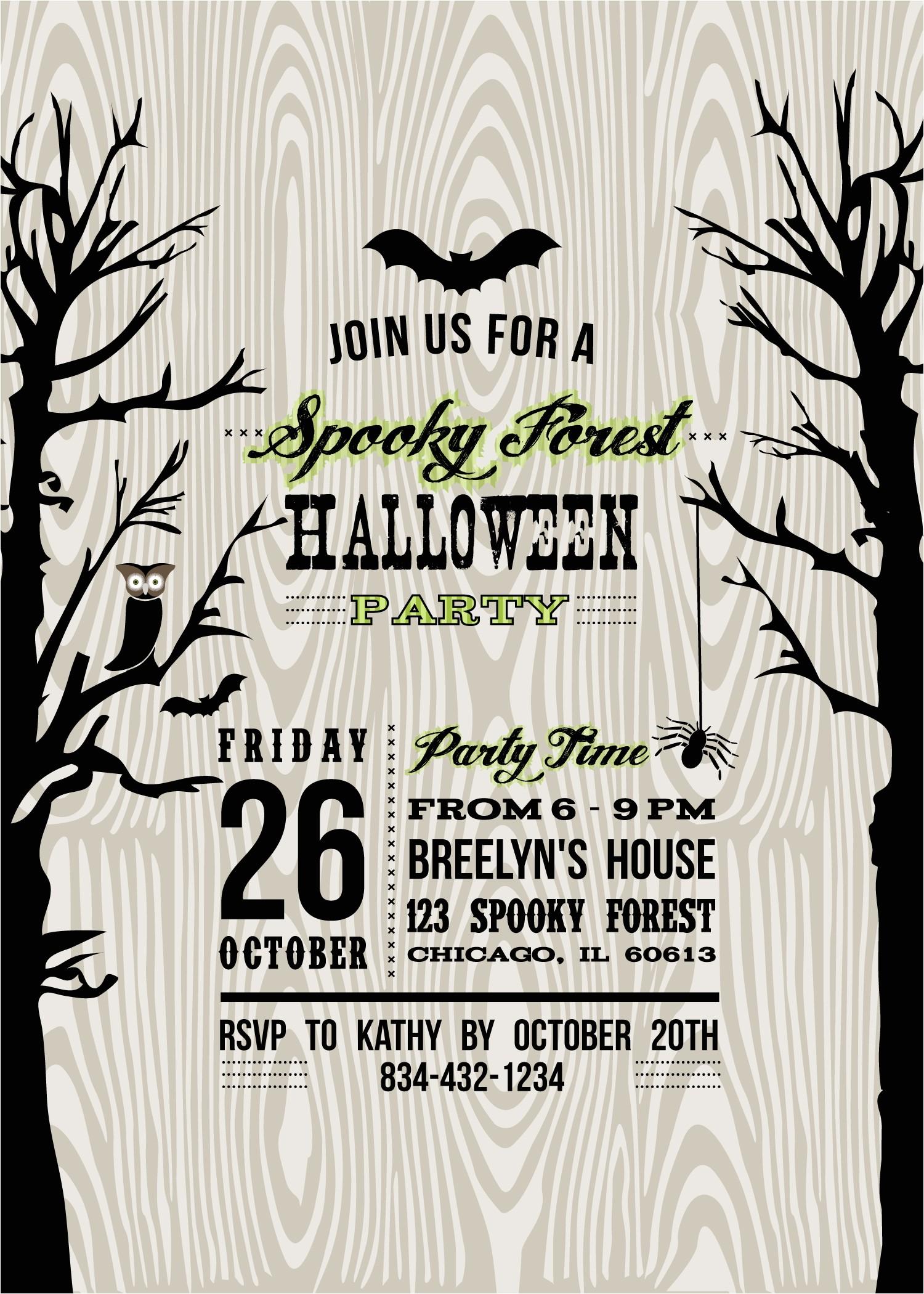stats p free printable halloween invitations templates