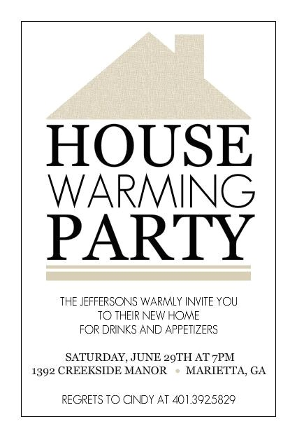 Free Housewarming Party Invitation Template Free Housewarming Party Invitations Printable
