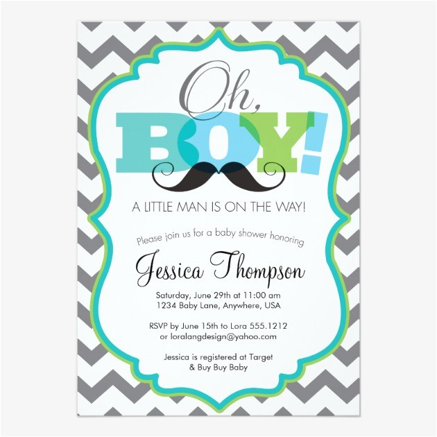 Free Mustache Baby Shower Invitation Templates Mustache Baby Shower Invitations – Gangcraft