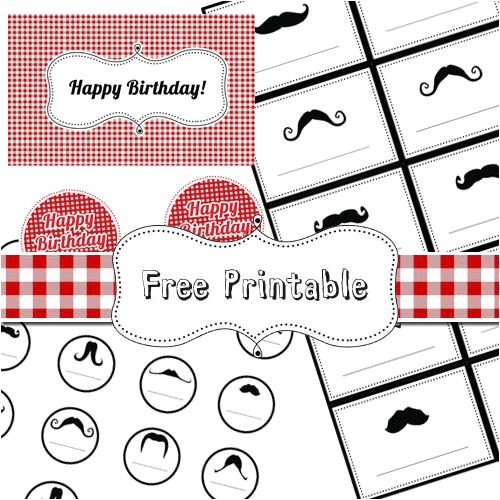 18 free party printables for busy moms
