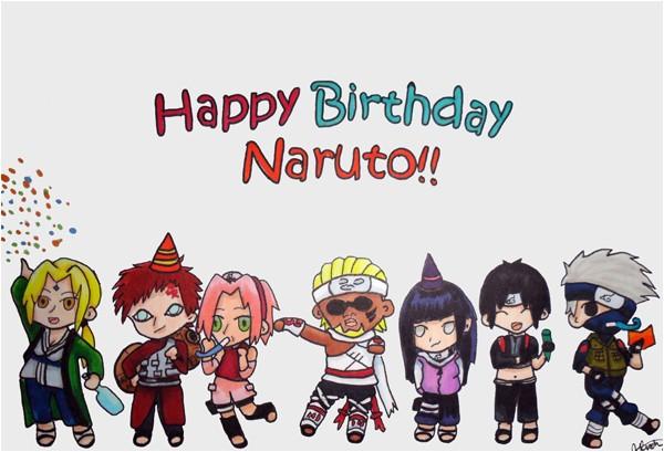 naruto birthday card