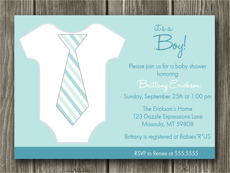 baby boy shower invitations cheap