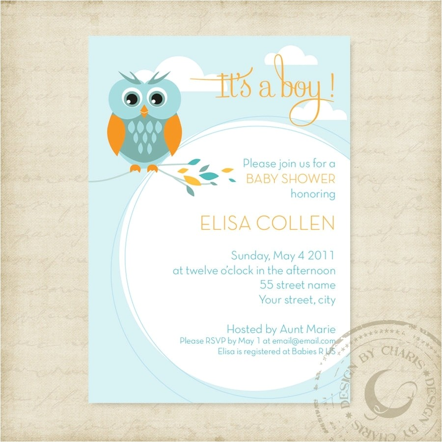 email baby shower invitations template