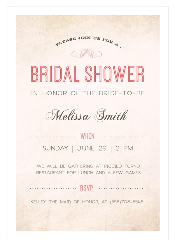 22 free bridal shower printable invitations