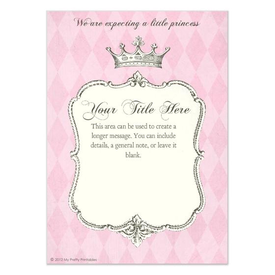 Free Princess Birthday Invitation Templates Princess Invitation Templates Invitation Template