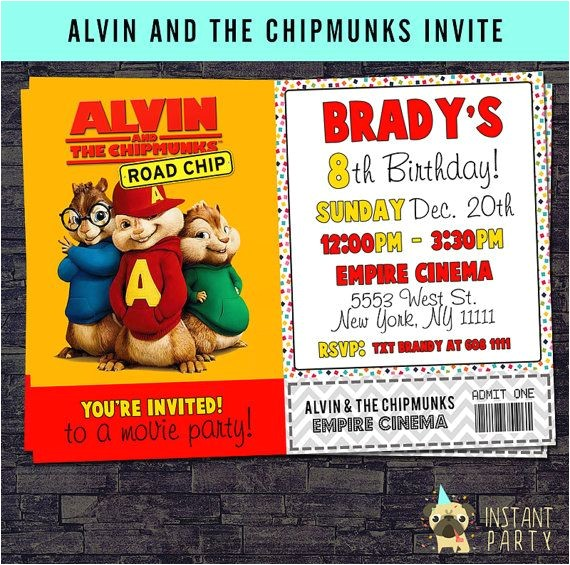 alvin party