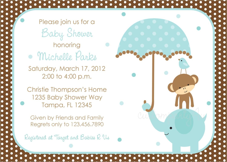 baby boy shower invitations free printable