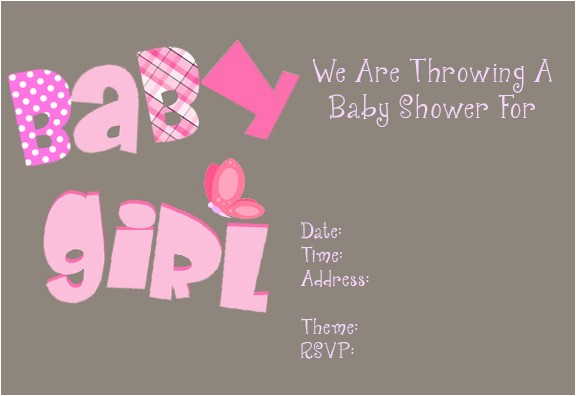 baby shower invitations free printable