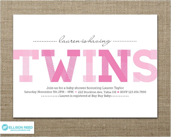 twins baby shower twins baby shower