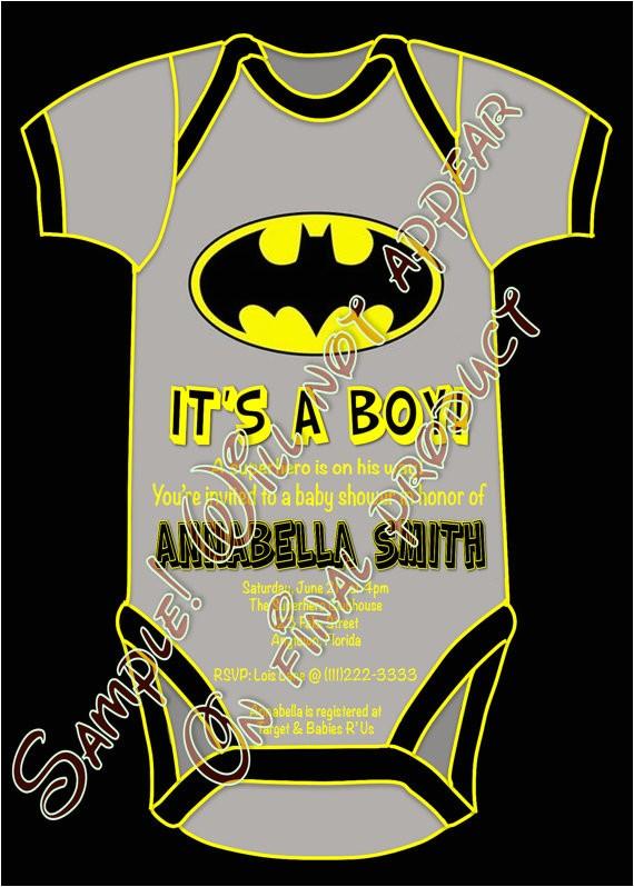 superhero batman baby shower its a boy