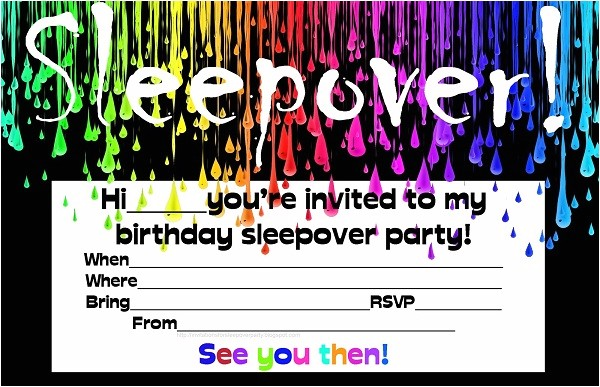 Free Printable Birthday Invitations for Tweens Free Printable Birthday Invitations for Tweens – Bagvania