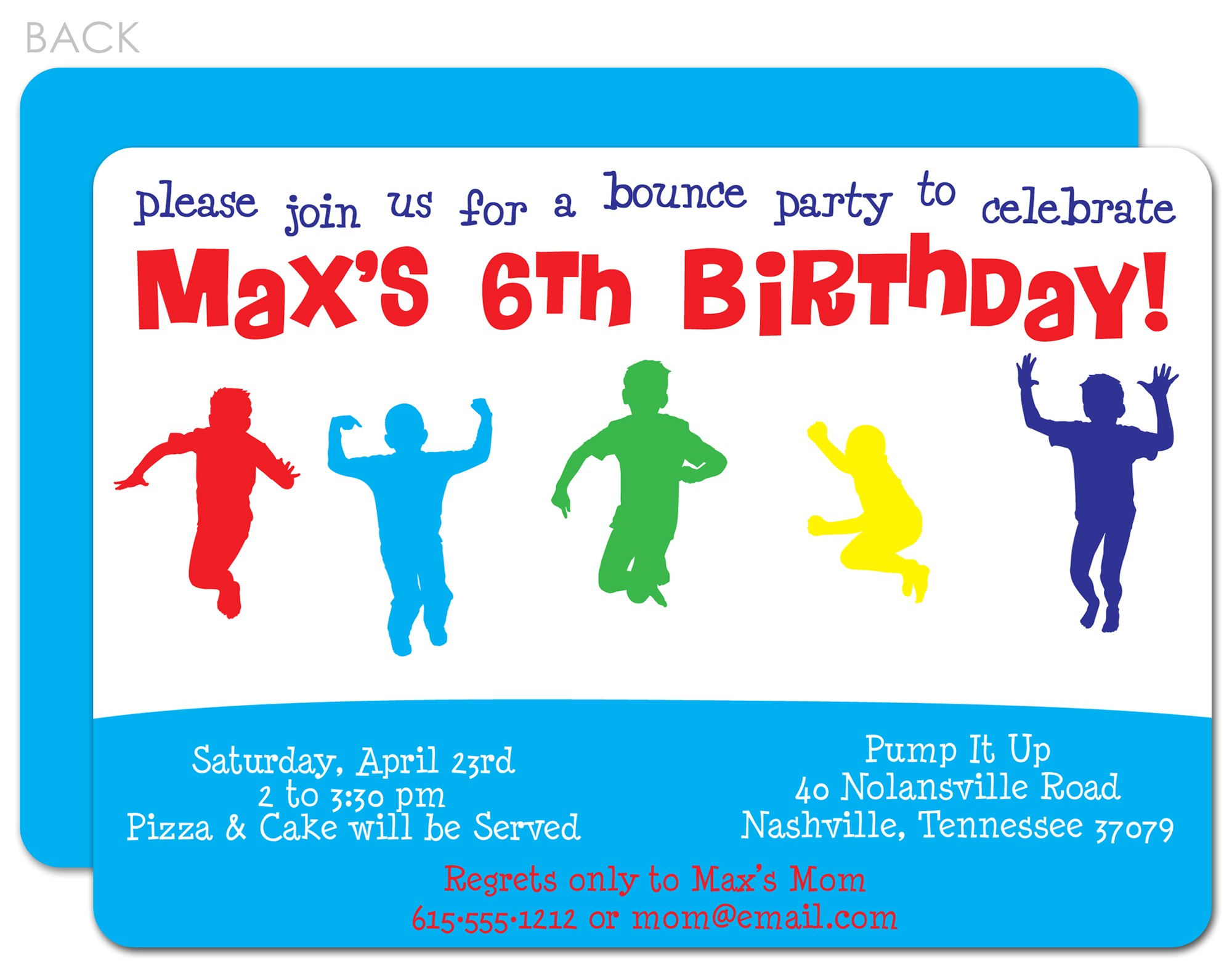 post boys birthday party invitations printable