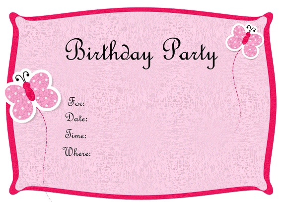 free printable birthday invitations for tweens
