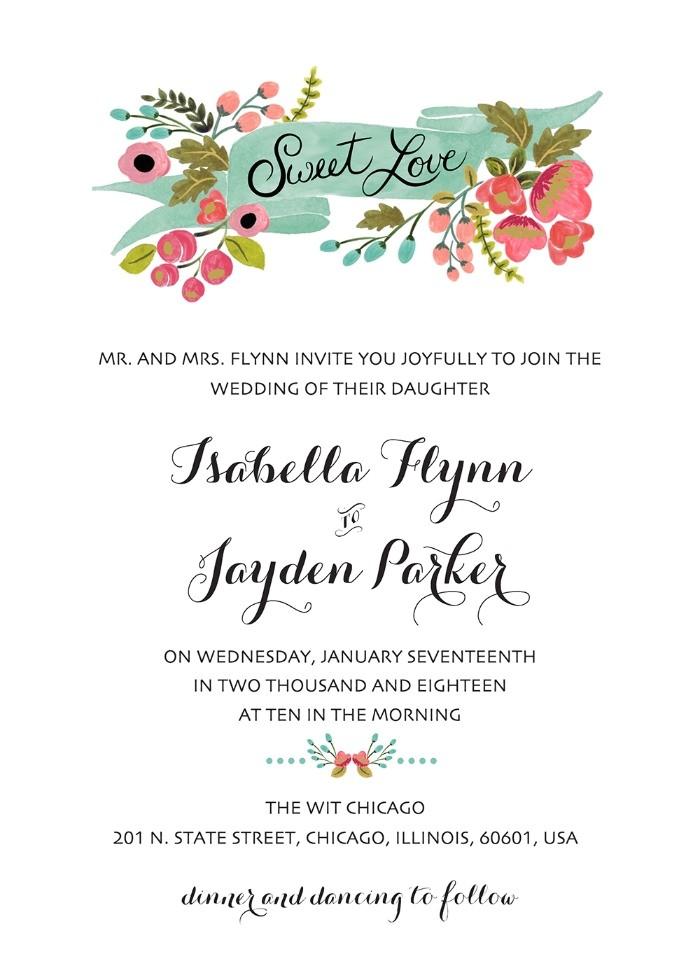 print 1952 audrey free printable wedding invites l 15 l 17