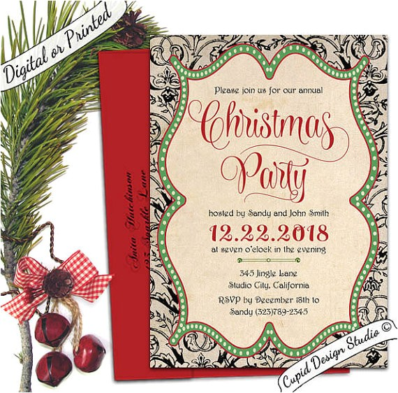 elegant christmas invitation christmas ref=listing shop header 0