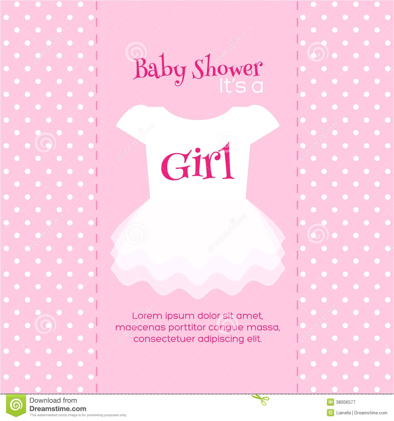 girl baby shower invitations templates