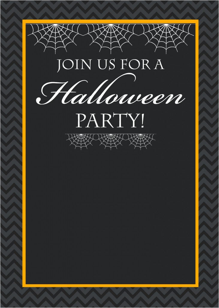 Free Printable Halloween Birthday Party Invitations Templates Free Printable Halloween Party Invitations Yellow Bliss Road