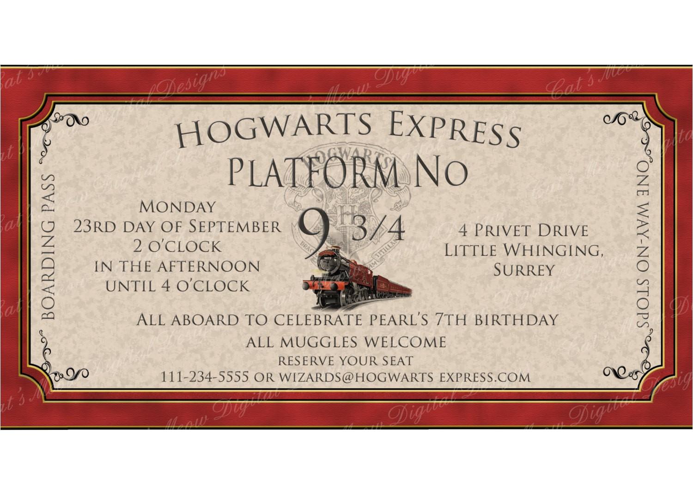hogwarts harry potter printable