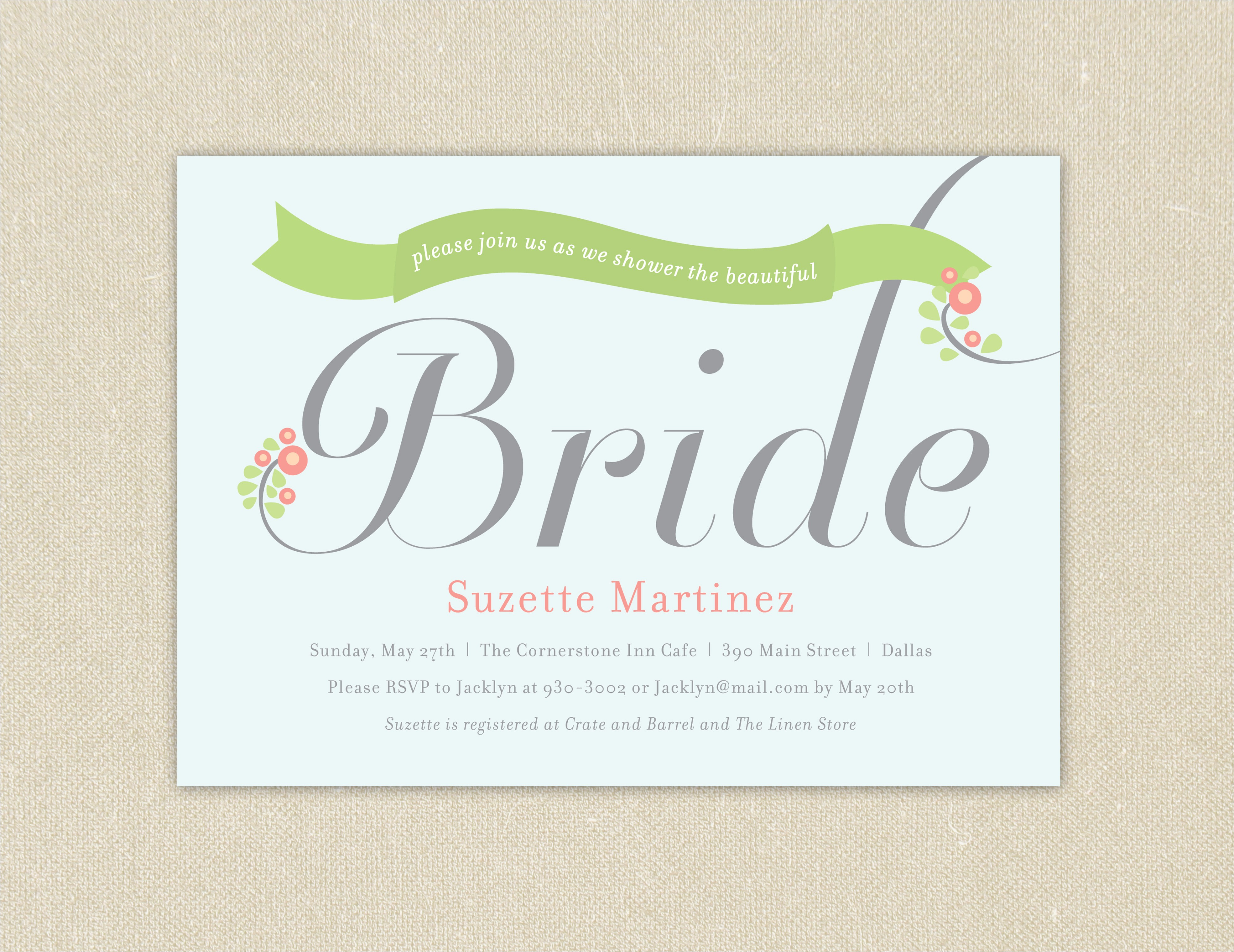 free printable kitchen bridal shower invitations templates