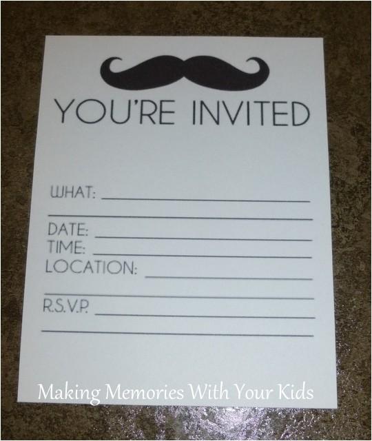 free birthday invitation templates hp