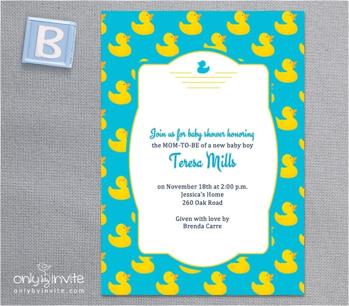 post rubber ducky printable template