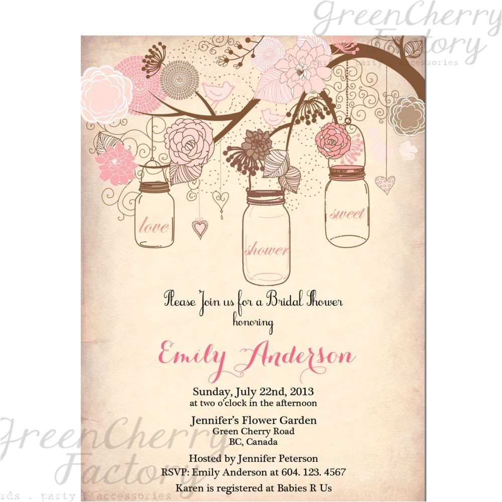 Free Printable Rustic Bridal Shower Invitation Templates Vintage Bridal Shower Invitation Templates Free