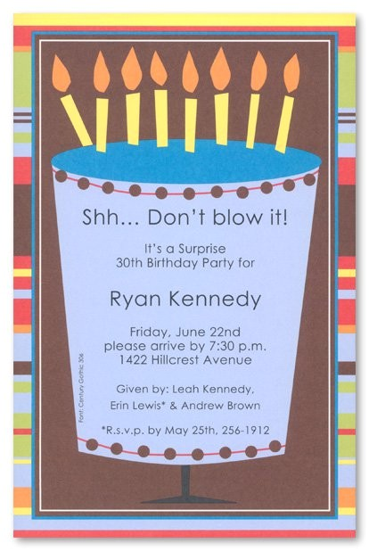 free printable 50th surprise party invitations