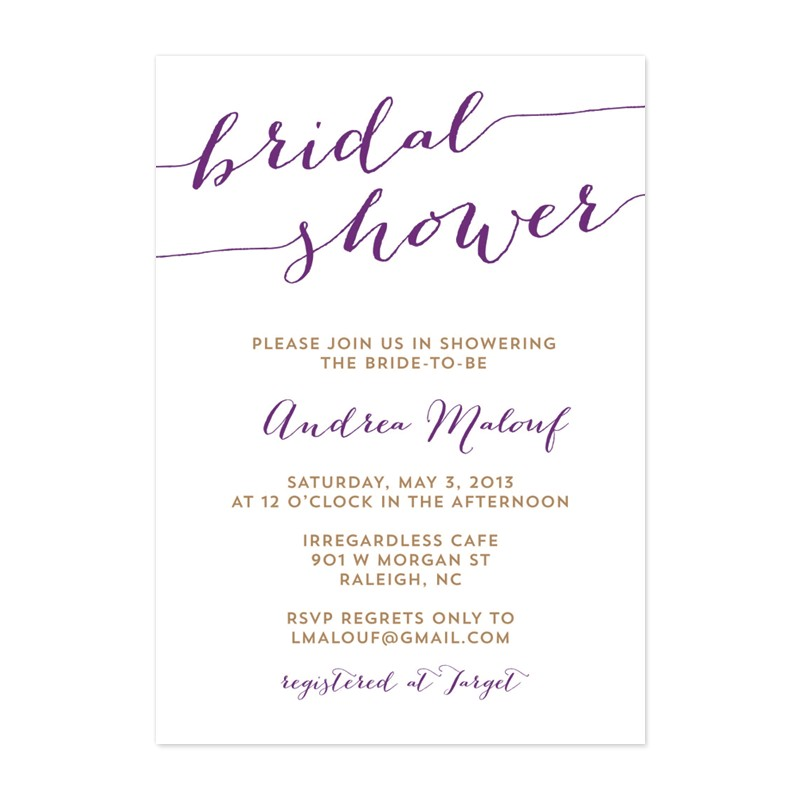 Free Printable Template for Bridal Shower Invitation Free Wedding Shower Invitation Templates Weddingwoow