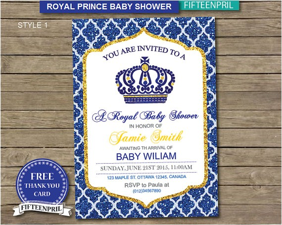 instant royal prince baby
